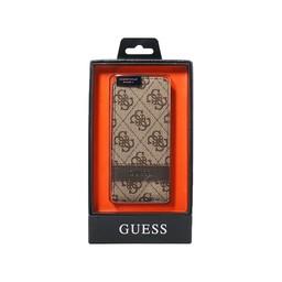 Guess Apple iPhone 5 / 5S / SE Originele Flipcase hoesje - Bruin