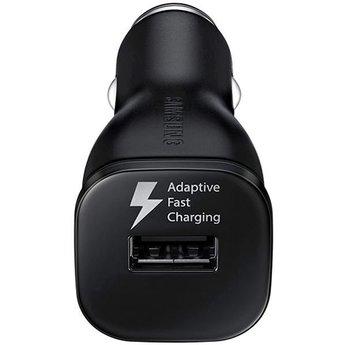Samsung Originele Adaptive Fast Charging Autolader 9.0V / 2,0 A met Type-C 1,2 meter Data + oplaadkabel - Zwart