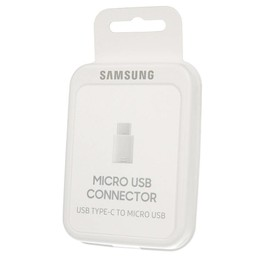 Samsung Originele Micro-USB naar Type-C Adapter - Wit