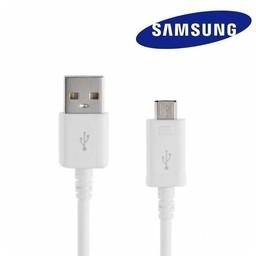 Samsung Micro USB 2.0 Originele data + oplaadkabel 1,5 meter - Wit