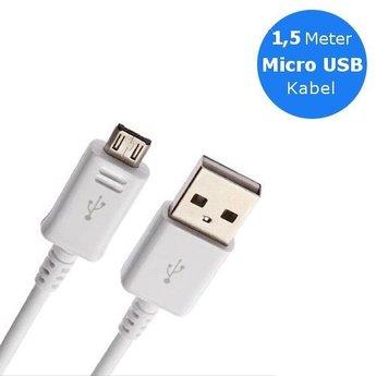 Samsung Originele Micro USB 2.0 data + oplaadkabel 1,5 meter - Wit