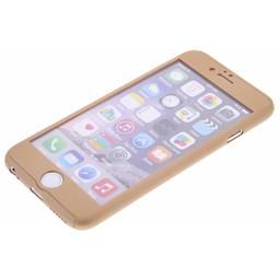 360° Bescherm hoesje voor de Apple iPhone 6 / 6S - Goud
