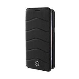 Mercedes-Benz Originele Wave Bookcase hoesje voor de Samsung Galaxy S8 Plus - Zwart