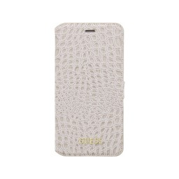 Guess Originele Croco Bookcase Hoesje voor de iPhone 7 / 8 Plus - Beige
