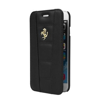 Ferrari Originele Bookcase Hoesje voor de Apple iPhone 6 / 6S - Zwart