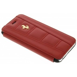Ferrari Originele Bookcase Hoesje voor de Apple iPhone 6 / 6S - Rood