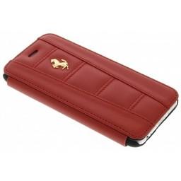 Ferrari Originele Bookcase Hoesje voor de iPhone 6 Plus - Rood