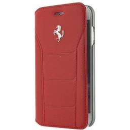 Ferrari Originele Folio Bookcase Hoesje voor de Apple iPhone 7 / 8 - Rood