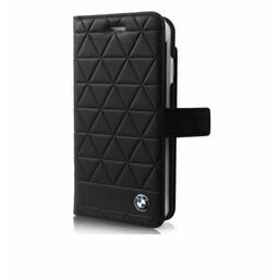 BMW Originele Hexagon Folio Bookcase Hoesje voor de iPhone 6 / 6S / 7 en 8 - Zwart