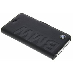 BMW Originele Debossed Logo Folio Bookcase voor de iPhone 7 en 8 - Zwart
