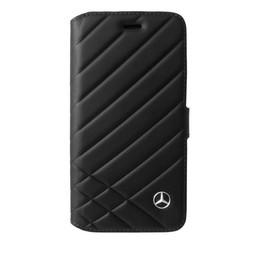Mercedes-Benz Originele Bow II Folio Bookcase voor de iPhone 6 Plus / 6S Plus / 7 Plus - Zwart