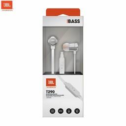 JBL Originele T290 in ear Headphones - Oordopjes Zilver