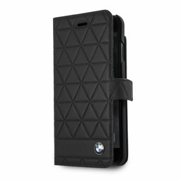 BMW Originele Hexagon Folio Bookcase Hoesje voor de iPhone 6 Plus / 6S Plus / 7 Plus en 8 Plus - Zwart