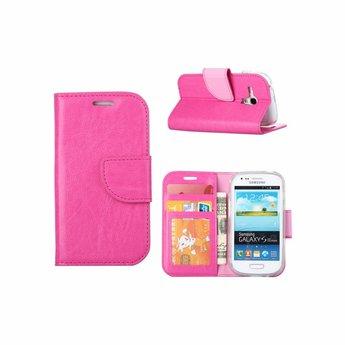 Flip Cas De Luxe Pour Les Mini-samsung Galaxy - Poudre Rose DdIDe0
