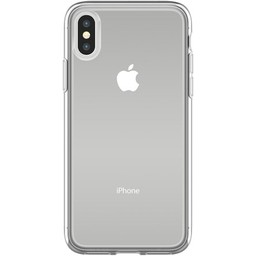 iPhone X siliconen (gel) achterkant hoesje - Transparant
