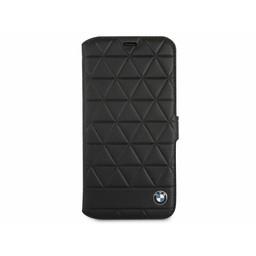 BMW Originele Hexagon Folio Bookcase Hoesje voor de Apple iPhone X - Zwart