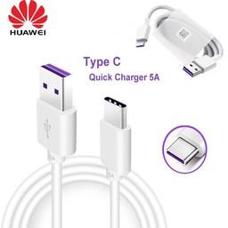 Huawei Originele USB 3.1 Type-C data + oplaadkabel - 100cm