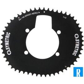 O.Symetric O.Symetric Oval Chainring 110BCD 4-arms ErgoAero
