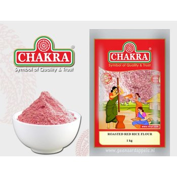 Chakra Roasted Red Rice Flour, 1 kg