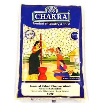 Chakra Roasted Kabuli Chana Whole, 500 gr