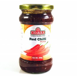 Chakra Red Chilli Pickle, 300 gr