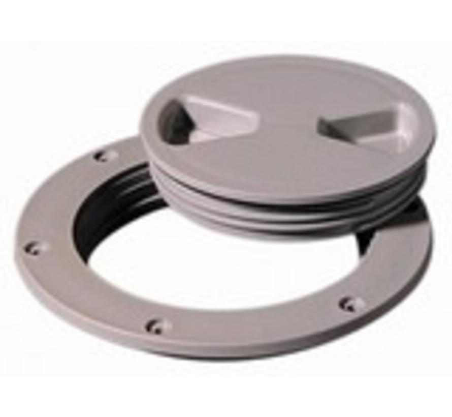 """Deck Plate Dark Gray 4"""" Screw Out"""
