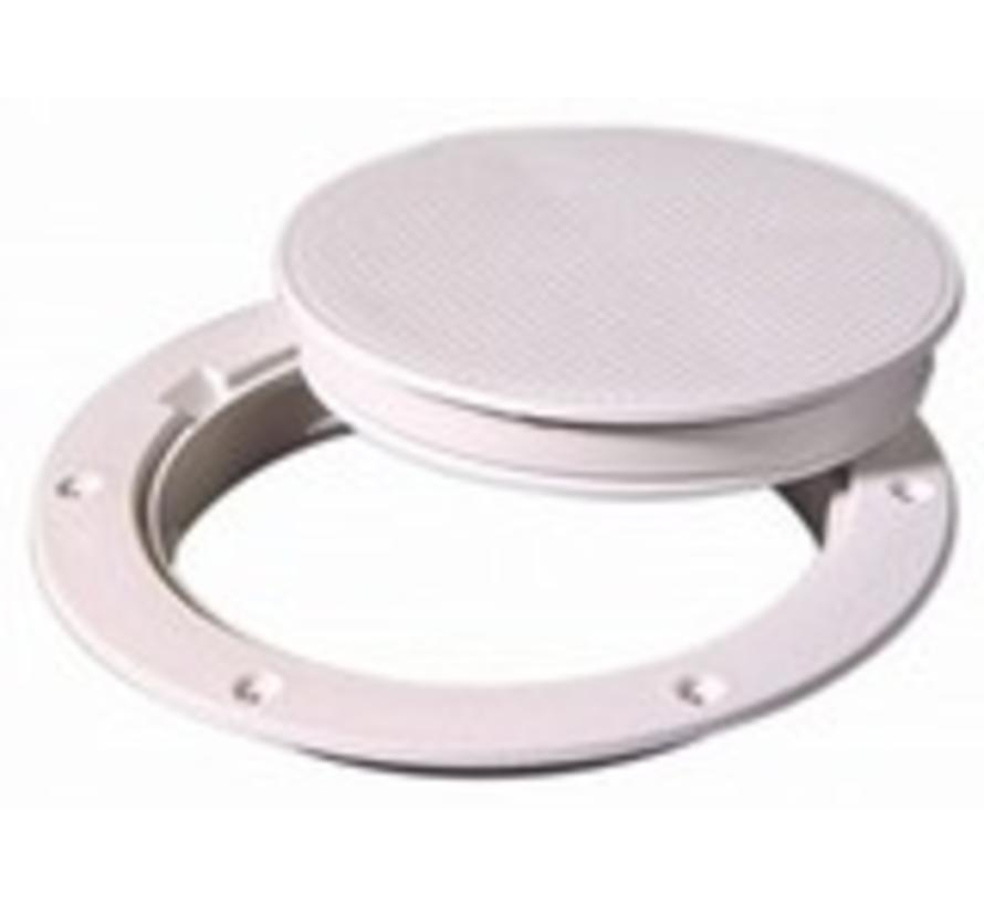 "Deck Plate White 6"" Pry Out"