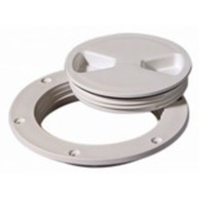 """Tempress Deck Plate White 8"""" Screw Out"""
