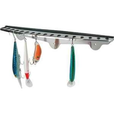 Fish-On! Stainless Steel Folding hook rack