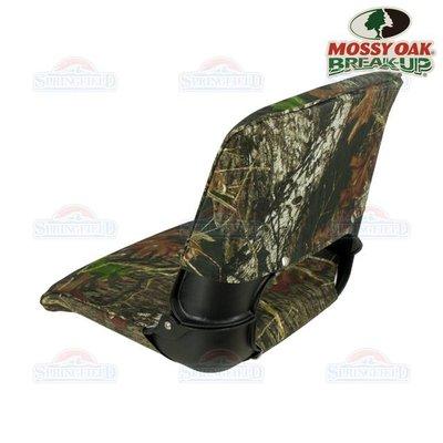 Springfield Skipper boat seat Black / Mossy Oak
