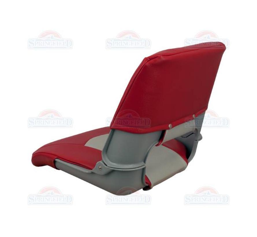 Skipper boat chair Gray / Red