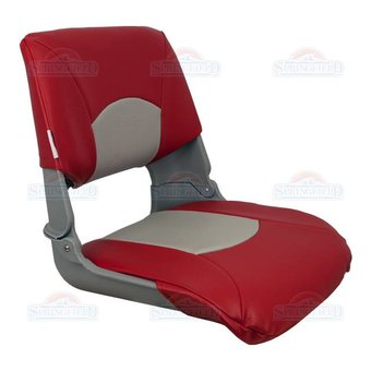 Springfield Marine Skipper boat chair Gray / Red