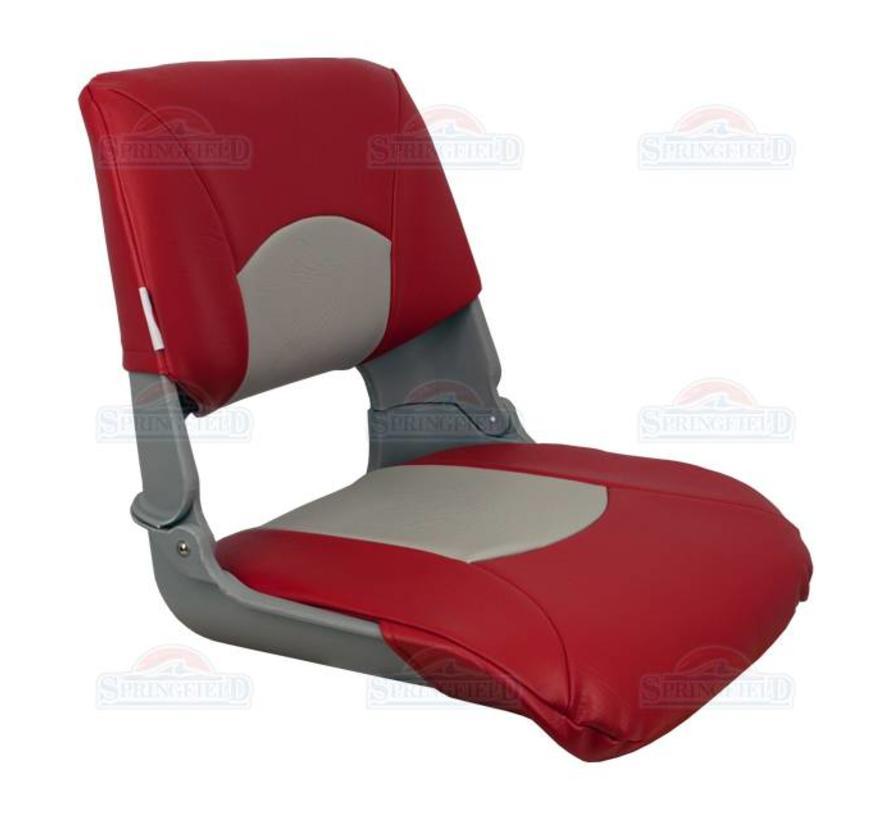 Skipper bootstoel Gray/Red