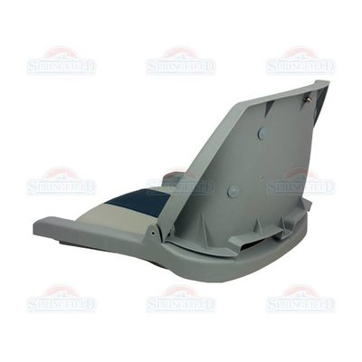 Springfield Traveler Gray / Blue Gray boat seat