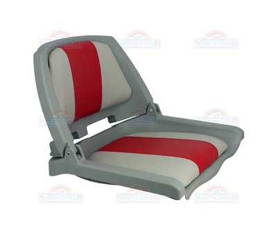 Springfield Traveler Gray / Red-Gray boat seat