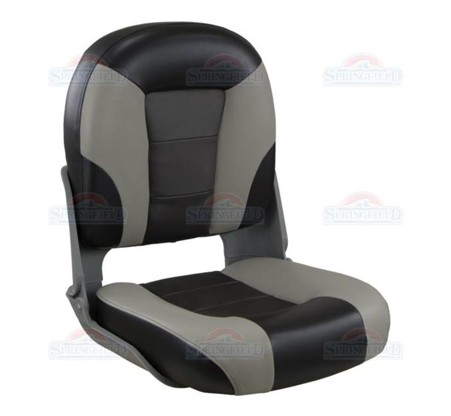 Premium Skipper boat chair Gray / Charcoal