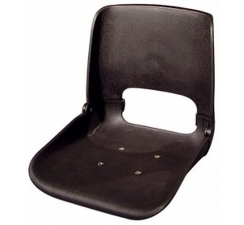 Tempress All Weather boat seat without upholstery Black