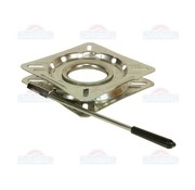 Turntable with lock stainless steel