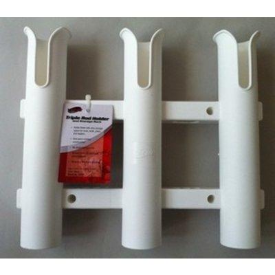 Tempress Tube Triple-Rutenhalter Weiß
