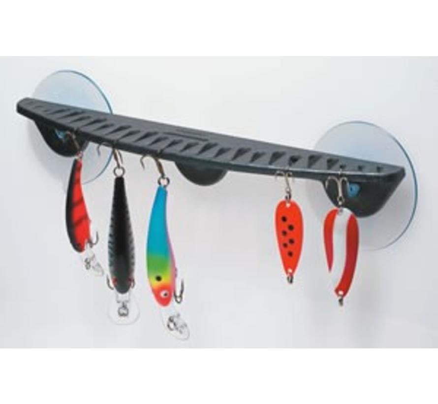 "12"" Hook rack Graphite"