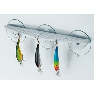 "BoatMates 12 ""Hook Rack White"