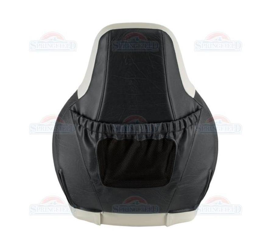 Fisch Pro 100 Boot Stuhl hellgrau mit dunkelgrau