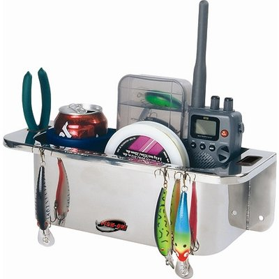 Fish-On! Stainless Steel Cockpit Organizer