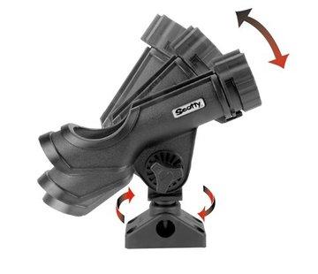 Scotty 230 Support Power Lock Rod à montage latéral / platine (241)