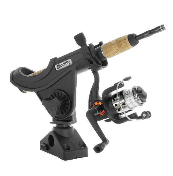Scotty 280 Baitcaster Spinning Rod Holder With Side