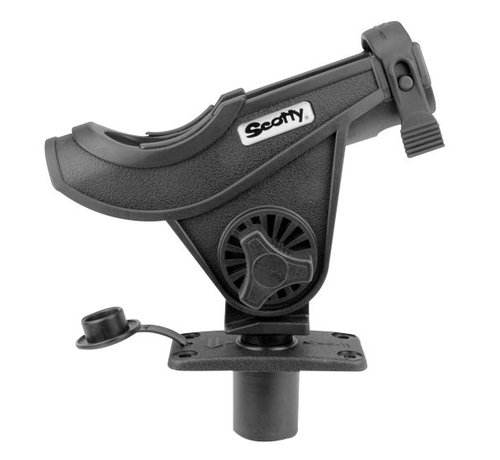 Scotty 281 Baitcaster / Spinning Rod holder with built-in mounting (244)