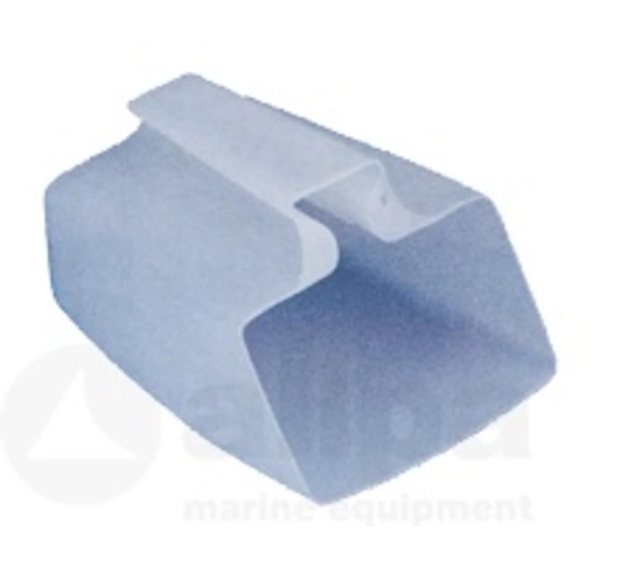 bailer plastique blanc