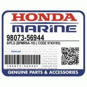 Bougie Sparkplug Honda BPMR6A-10
