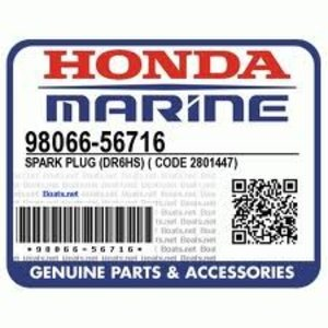 Honda DR6HS sparkplug sparkplug