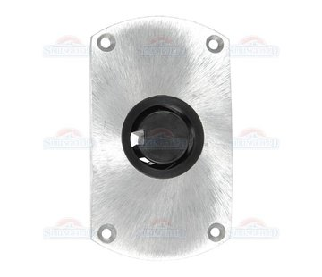 Springfield Plug In Double Flat Side Base, fini satiné
